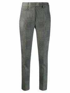Dondup check pattern trousers - Black