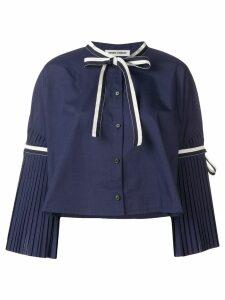 Henrik Vibskov plisse blouse - Blue