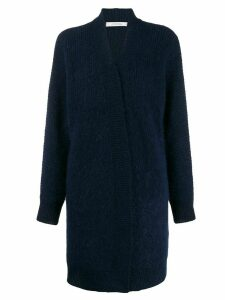 Dorothee Schumacher Cosy Spirit long cardigan - Blue