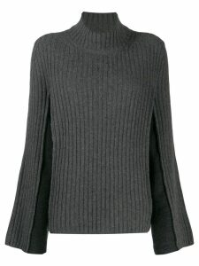 Maison Margiela rib-knit jumper - Grey