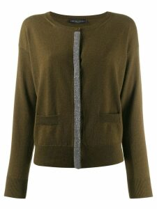 Fabiana Filippi beaded cardigan - Green