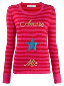 5 Progress Amore Mio striped jumper - Red