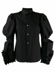 Comme Des Garçons Juliet sleeve shirt - Black