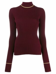Maison Margiela rib-knit jumper - Red