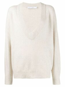 IRO oversized jumper - White