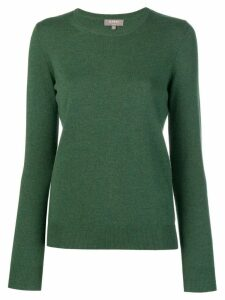 N.Peal round neck knitted sweater - Green