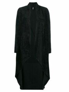 Thom Krom asymmetric hem cardigan - Black