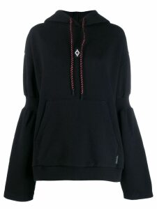 Marcelo Burlon County Of Milan Cross Over hoodie - Black