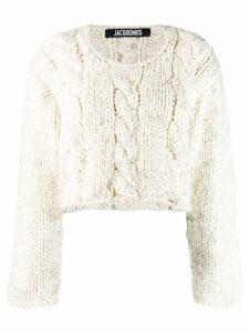 Jacquemus La Maille Lima sweater - NEUTRALS