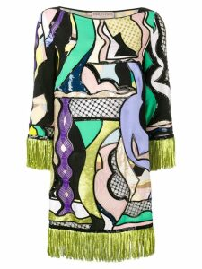 Emilio Pucci Vallauris Sequinned Mini Dress - Green