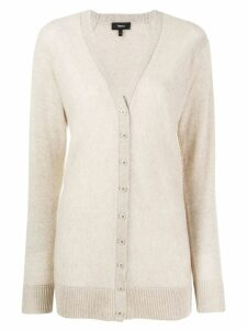 Theory knitted cashmere cardigan - NEUTRALS