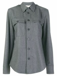 Stella McCartney classic wool shirt - Grey