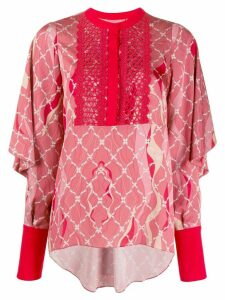 Three Floor Romantique printed blouse - PINK