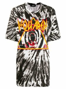 Dsquared2 tie-dye T-shirt - Black