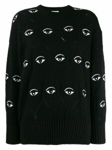 Kenzo Eye embroidered jumper - Black