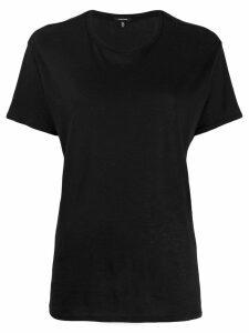 R13 boyfriend T-shirt - Black