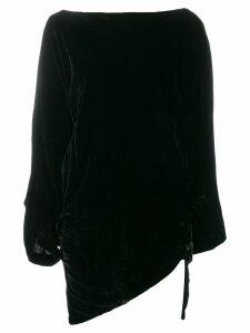 Vivienne Westwood Anglomania asymmetric hem jumper - Black