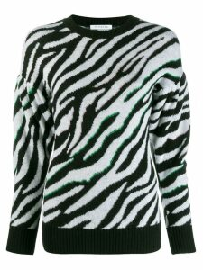 Vivetta animal print jumper - White