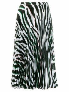 Vivetta animal print skirt - White