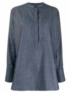Joseph Henry Chambray oversized shirt - Blue