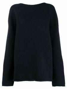 Jacquemus oversized jumper - Blue