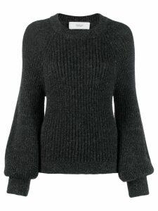 Pringle of Scotland blouson-sleeve sweater - Grey