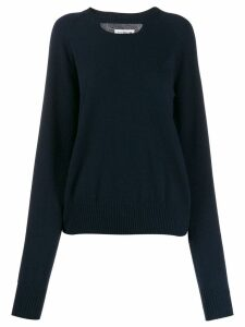 Maison Margiela cashmere cut-out jumper - Blue