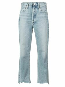 AGOLDE Riley crop jeans - Blue