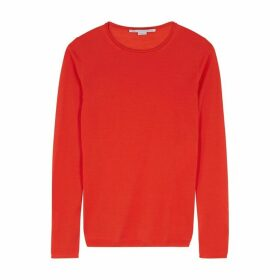Stella McCartney Red Wool Jumper