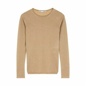 Stella McCartney Camel Wool Jumper