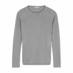 Stella McCartney Grey Mélange Wool Jumper