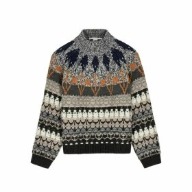 Stella McCartney Fair Isle Wool-blend Jumper