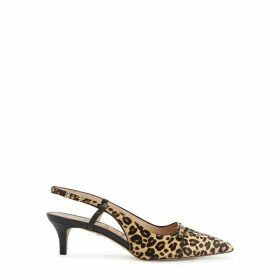 Sam Edelman Denia 50 Leopard-print Calf Hair Pumps