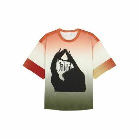 Chloé Dégradé Printed Cotton T-shirt