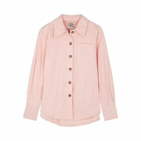 Baum Und Pferdgarten Min Light Pink Cotton Shirt