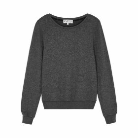 Wildfox Dark Grey Mélange Sweatshirt