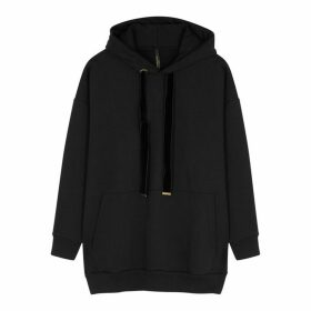 Mother Of Pearl Effa Black Hooded Cotton Sweatshirt