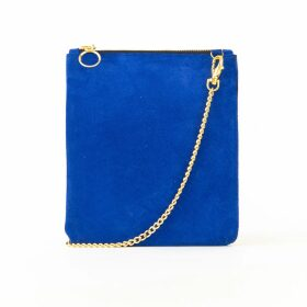 Holistic Silk - Pure Mulberry Silk Scrunchie Navy