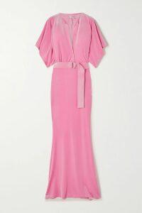 Jason Wu - Ribbed Stretch-knit Midi Dress - Emerald