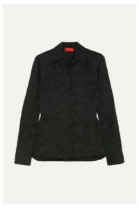 Commission - Satin-jacquard Shirt - Black