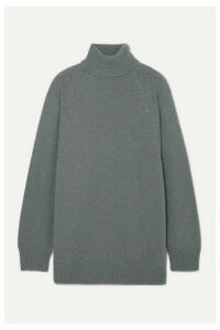 Dries Van Noten - Tanner Knitted Turtleneck Sweater - Gray