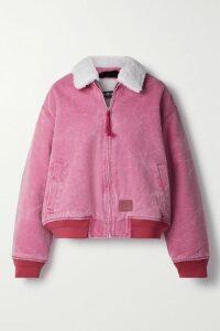 Thom Browne - Oversized Striped Merino Wool Cardigan - Baby pink