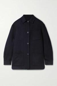 Miu Miu - Oversized Intarsia Mohair-blend Cardigan - Pink