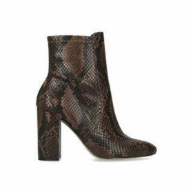 Aldo Aurella - Snake Print Block Heel Ankle Boots