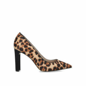 Aldo Febriclya - Leopard Print Block Heel Court Shoes