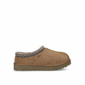 Ugg Tasman - Tan Slipper With Braiding Detail