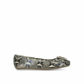 Carvela Mission - Snake Print Ballerina Pumps