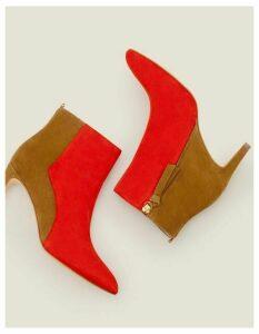 Bracknell Ankle Boots Red Women Boden, Navy