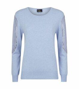 Swarovski Embellished Cashmere Sweater