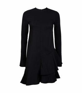 Frill Hem Mini Dress